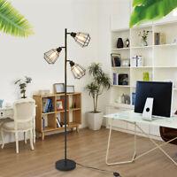 3-Head Floor Lamp 65inch Track Tree Lamp Fixture Vintage Industrial Style