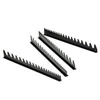 Organizer Sorter Tool Holder 40 Wrench Storage Rack Tray Rail Black