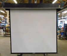 "DA-LITE CEILING RECESSED ELECTRIC PROJECTOR SCREEN BX771-83, 70"" X 70"""