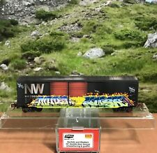 N SCALE ENTHUSIAST NSE MTL 15-13 WEATHERED NORFOLK AND WESTERN 50' BOX CAR