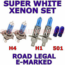 Fits ROVER Série 400 414 416 420 1990 -1995 set H1 H4 501 Xénon Ampoules