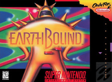 Earthbound - SNES Super Nintendo - Cart Only - New Condition - Free Shipping