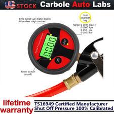 Inflador De Neumáticos Digital 0-150 PSI con manómetro aire Chuck para Camión/coche/bicicleta