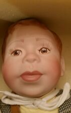 "American Artists Collection Kais By Joanne Gelin Porcelain Doll Patrick 22"" NIB"