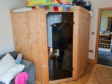 More details for indoor finnish style sauna