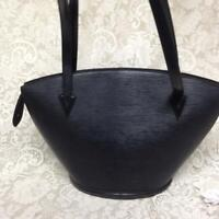 Louis Vuitton, St. Jacques Gm Black Cowhide-Epi Leather Tote 18in x 12in x 7in