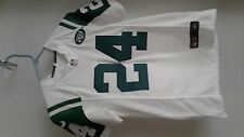 NYJETS Jersey 24 Revis  kids size M, new white and green