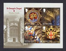 2017 WINDSOR CASTLE St. Georges Chapel MINI SHEET- NO BARCODE  SG MS3932