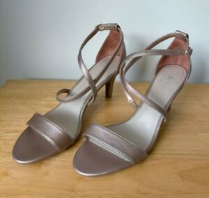 SANDLER 'Alison' Size 11B Bronze Colour Dress Heels Sandals Shoes RRP $150