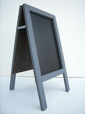 CHALKBOARD-PAVEMENT BOARD-SANDWICH-DISPLAY-BLACKBOARD - 80cm x 40cm GREY 5KGS