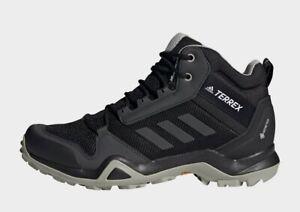 Adidas Terrex  AX3 Mid GORTEX Hiking Trainers Shoes UK 8 EU 42 New