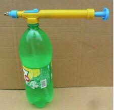Lemonade Water Plastic Bottle Sprayer Pressure Gun Outdoor Toy Kids Play Guns