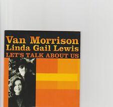 Van Morrison-Let's Talk About Us UK 1 track promo cd 2000