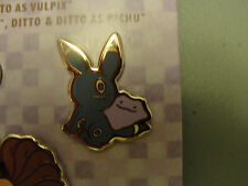 NEW Pokemon Center DITTO Pin Charm -- Ditto as Umbreon