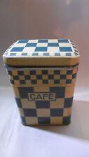 ancienne boite a café metal vintage