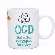 OCD Obsessive Cockapoo Disorder! Coffee & Tea Novelty Dog Mug