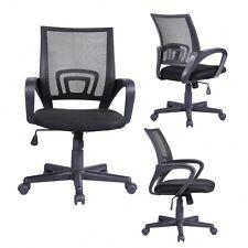 Ergonomic Mid-Back Executive Swivel Black Mesh Office Chair Computer Furniture