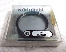 véritable France 49mm COKIN UV lentille en verre FILTRE PROTECTION 49 mm Ligh