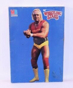 Milton Bradley Wrestling Stars VTG Sealed Jigsaw Puzzle NIB 4662-1 Hulk Hogan MB