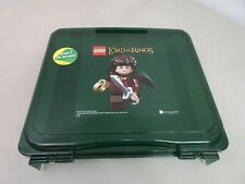 LEGO Lord of the Rings Project Storage Carry Case Translucent Green w base plate