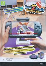 "Invizimals Shadow Zone ""PSP"" 2011 Magazine Advert #4359"