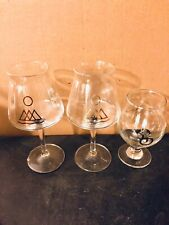 3 Hudson Valley + Other Half Teku Glasses Collection (monkish, Cans, Trillium)