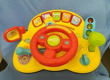 Vtech 80-166601 Turn and Learn Driver Toy - Yellow - Includes Batteries