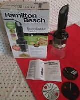Hamilton Beach 3-in-1 Fruit and Vegetable 2 Speed Electric Spiralizer | 59998