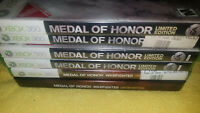 3 different Medal Of Honor Games xbox 360