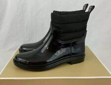 New Michael Kors Women's Blakely Rain Bootie Black Boots Size 6 NWB