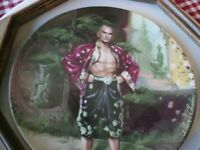 """King Mongkut of Siam, Yule Brynner """"The King and I"""" Wall Art, 1985 Plate"""