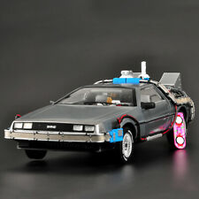 1:18 Hot Wheels ELITE Back to the Future Time Machine Diecast Model Car As Gift