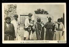 Egypt EL-ARISH Sinai Group of Natives 1917 On Active Service PPC