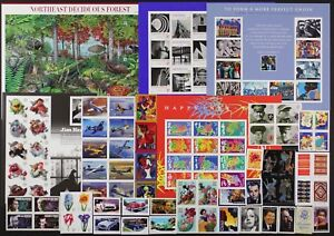US 2005 Commemorative Year Set 124 stamps including Sheets, Mint NH, see scans