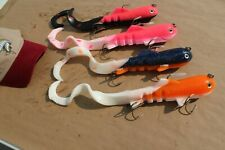 4-Pack 8oz MAG SuperD Swimbaits Musky Lure Muskie Northern Pike Largemouth Bass