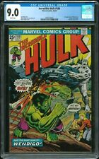 INCREDIBLE HULK 180 - CGC 9.0 (1st Cameo Appearance of Wolverine)