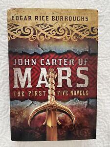 John Carter of Mars: The First Five Novels Hardcover Edgar Rice Burroughs.