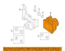 MAZDA OEM 14-16 3 ABS Anti-lock Brakes-Modulator Valve BHY1437A0D