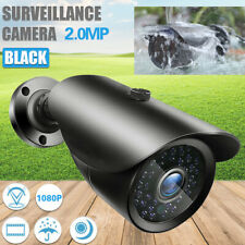 CCTV 1080P 2MP AHD HD Camera Night Vision Switch Bullet Cam Outdoor Waterproof