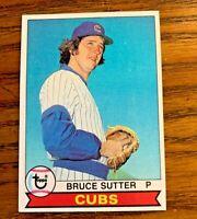 1979 Topps #457 Bruce Sutter 2nd Year - Cubs - Set Break - NM