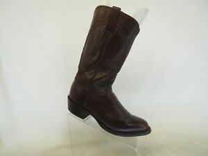 Lucchese Classics Brown Leather Cowboy Western Boots Mens Size 7.5 E