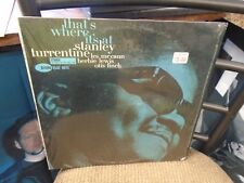 Stanley Turrentine That's Where It's At vinyl LP Blue Note Records EX IN Shrink