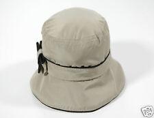 NUOVO COCCINELLE DA DONNA CAPPELLO BERRETTO PIATTO Schlapphut Designer Hat 1-15