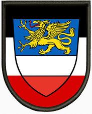 Wappen von Rostock, Aufnäher ,Pin, Aufbügler