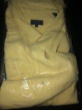 Size 6 Ted baker Long Sleeve Yellow Dress Shirt