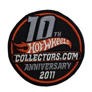 Hot Wheels Collectors.com 10th Anniversary 2011 Patch (1320)