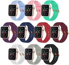 APPLE WATCH REPLACEMENT BAND / STRAP, SERIES 6 5 4 3 2 1 & SE. 42 & 44MM 10 PACK