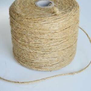 Natural Brown  Craft Jute Twine  String Rustic Cord Shabby Garden DIY