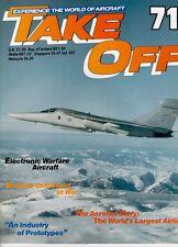TAKE OFF 71 EW ACFT EA-3 EF-111A_WW2 RAF BOMBER COMMAND_AEROFLOT_FRENCH PROTOTYP