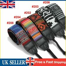 UK Vintage DSLR SLR Camera Shoulder Neck Strap Belt for Pentax Canon